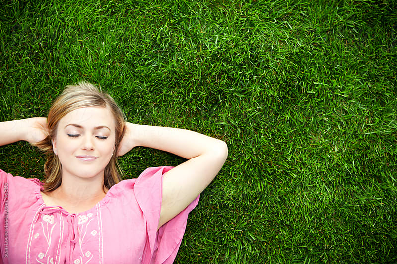 Grass: Summertime Daydream Nap by Sean Locke for Stocksy United