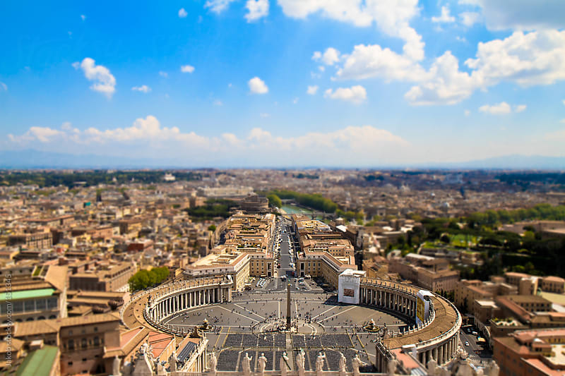 View over vatican by Jakob for Stocksy United