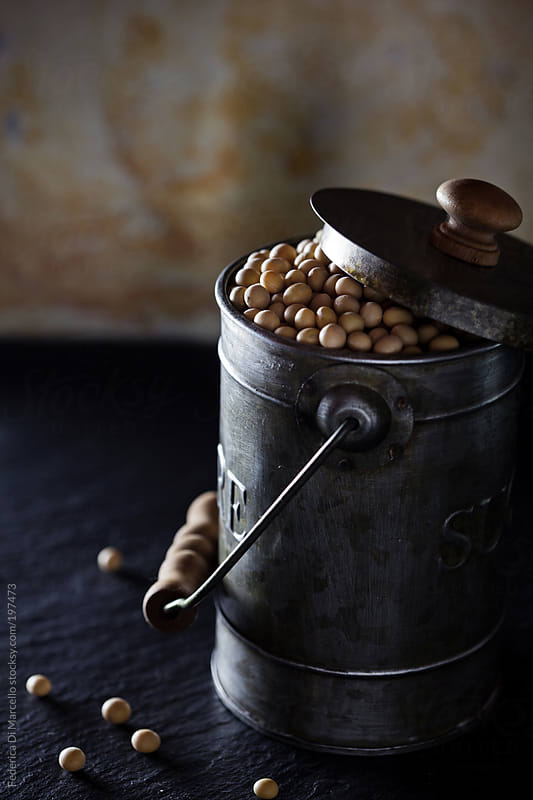 Soya beans by Federica Di Marcello for Stocksy United