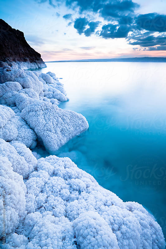 Dead Sea salt crystals by Micky Wiswedel for Stocksy United