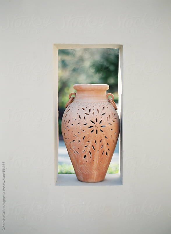 Dubai Pottery  by Vicki Grafton Photography for Stocksy United