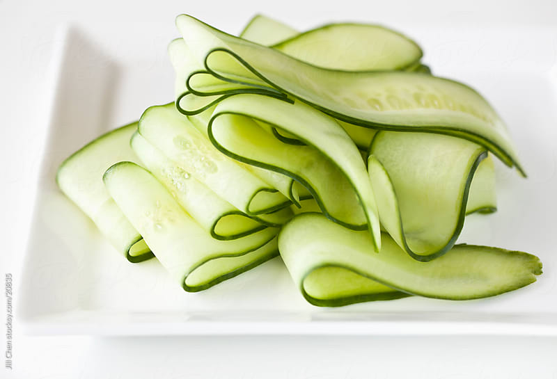 Cucumber Slices by Jill Chen for Stocksy United