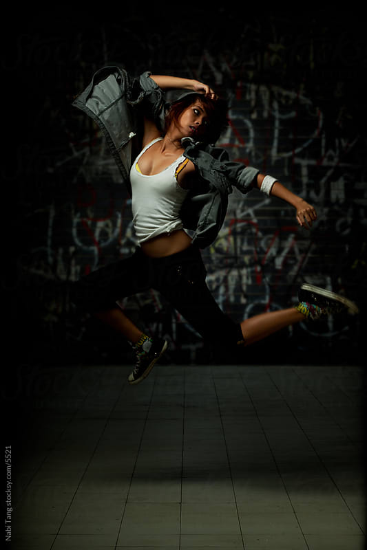 Asian street dancer by Nabi Tang for Stocksy United