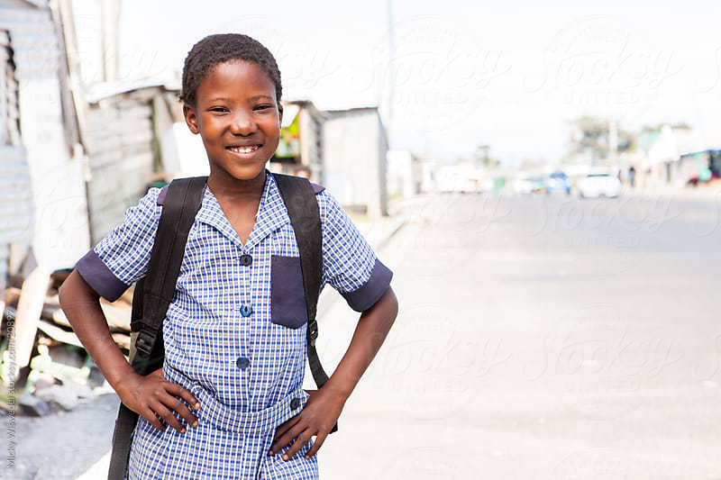African school girl by Micky Wiswedel for Stocksy United