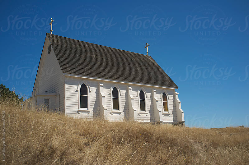 Old Church in Tiburon, California by Lucas Saugen for Stocksy United