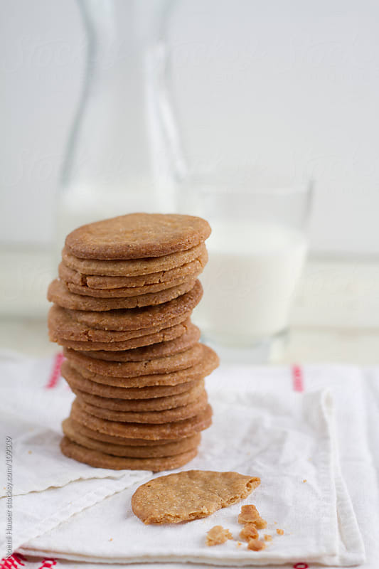 Stack of cookies  by Noemi Hauser for Stocksy United