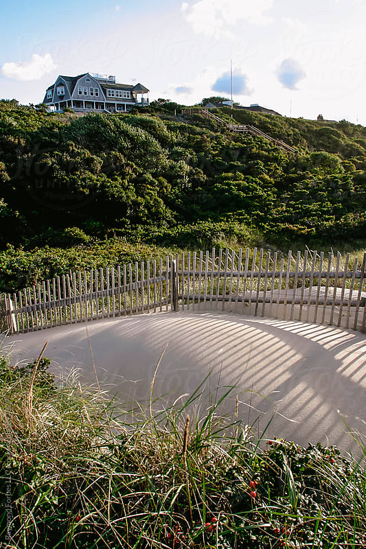 Dune Fence by Raymond Forbes LLC for Stocksy United