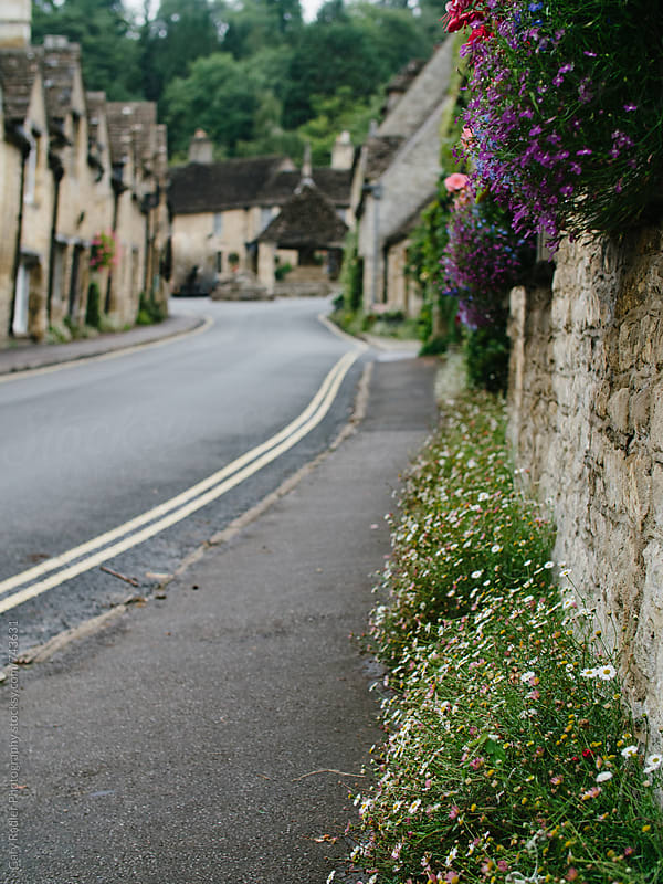 English Lane in Castle Combe by Gary Radler Photography for Stocksy United