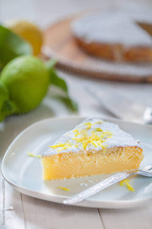 Lemon pie by Davide Illini for Stocksy United