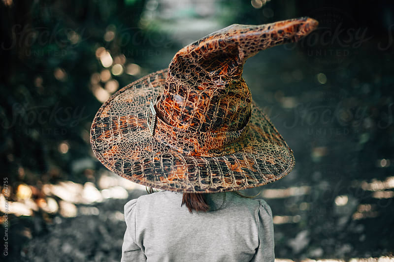 Girl with a witch hat by Giada Canu for Stocksy United