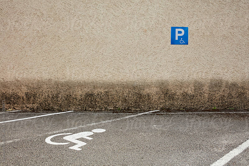 Parking for the disabled by Bratislav Nadezdic for Stocksy United