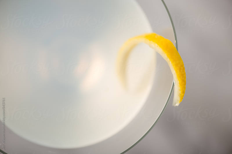 Lemon Cocktail with Twist by Jeff Wasserman for Stocksy United