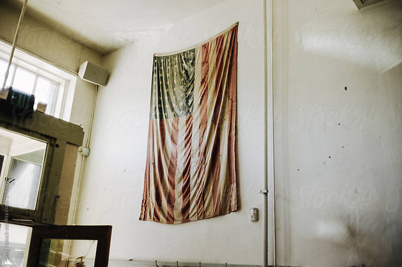 Old Glory Hanging by Benj Haisch for Stocksy United