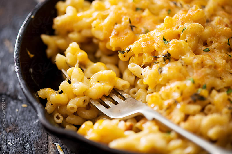 Skillet Macaroni and Cheese by Studio Six for Stocksy United