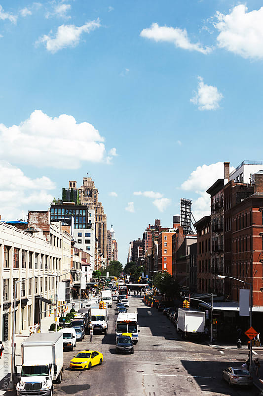 Chealsea street. New York city. by BONNINSTUDIO for Stocksy United
