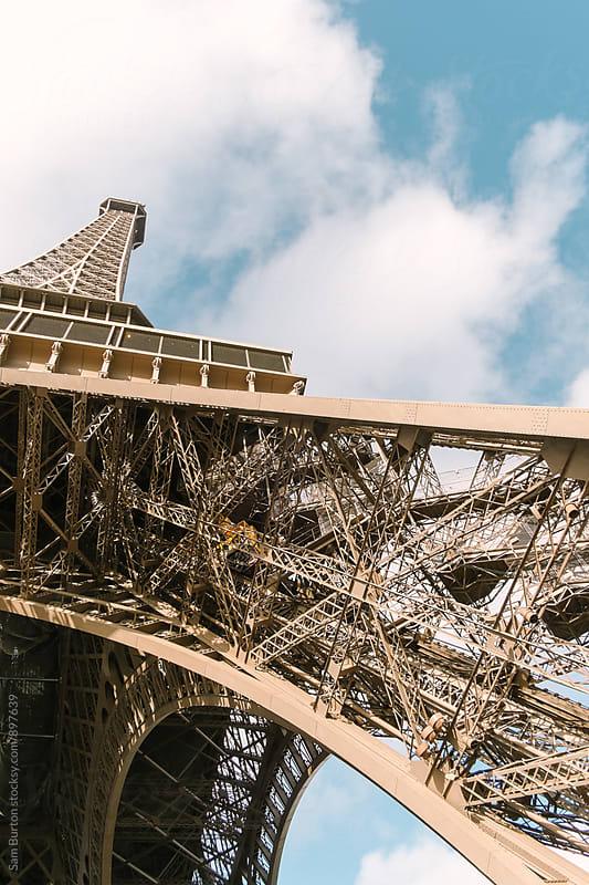 Eiffel Tower by Sam Burton for Stocksy United