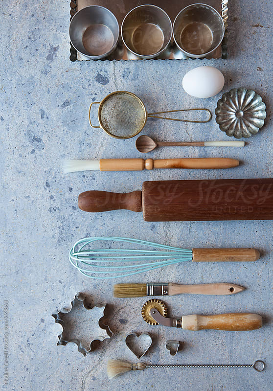 Baking, cooking and kitchen Tools by Nadine Greeff for Stocksy United