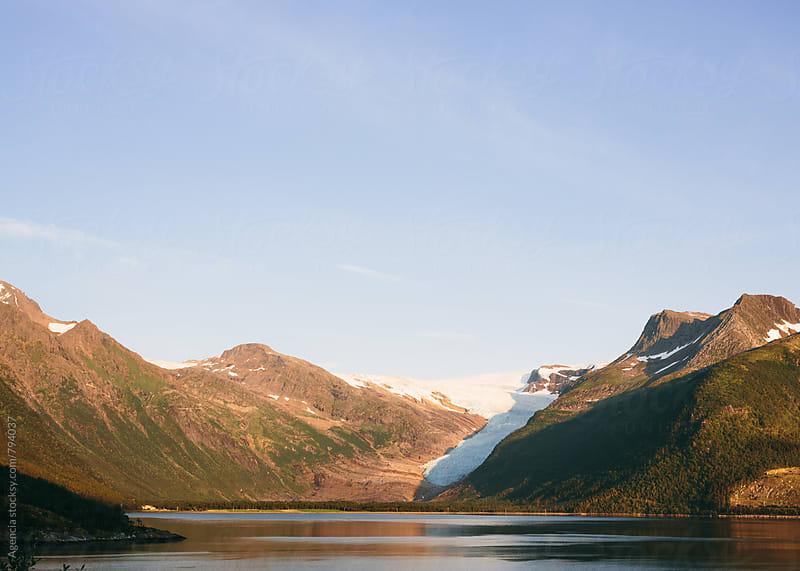 Svartisen Glacier by Agencia for Stocksy United