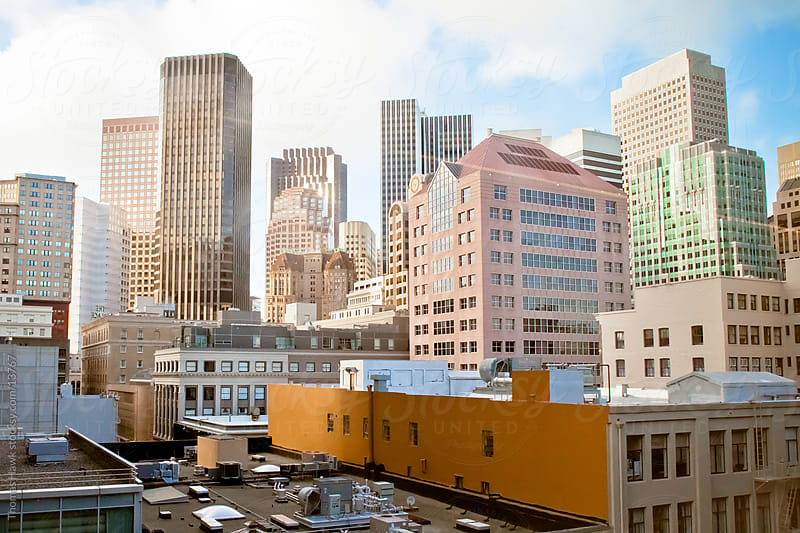 Cityscape View of San Francisco by Thomas Hawk for Stocksy United