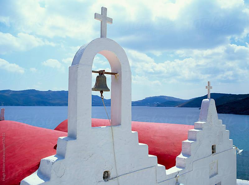 Beautiful churches of Mykonos. Greece. by Hugh Sitton for Stocksy United