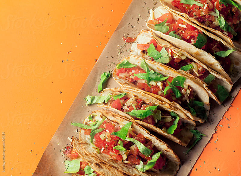 Mexican Tacos by Lumina for Stocksy United