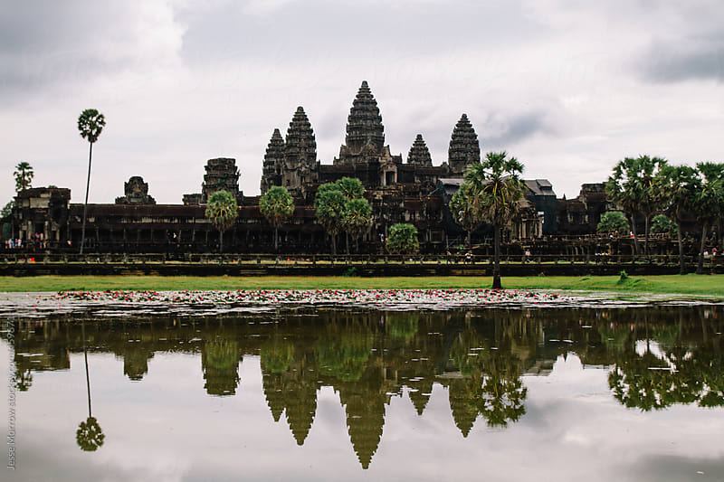 Ancient angkor wat  by Jesse Morrow for Stocksy United