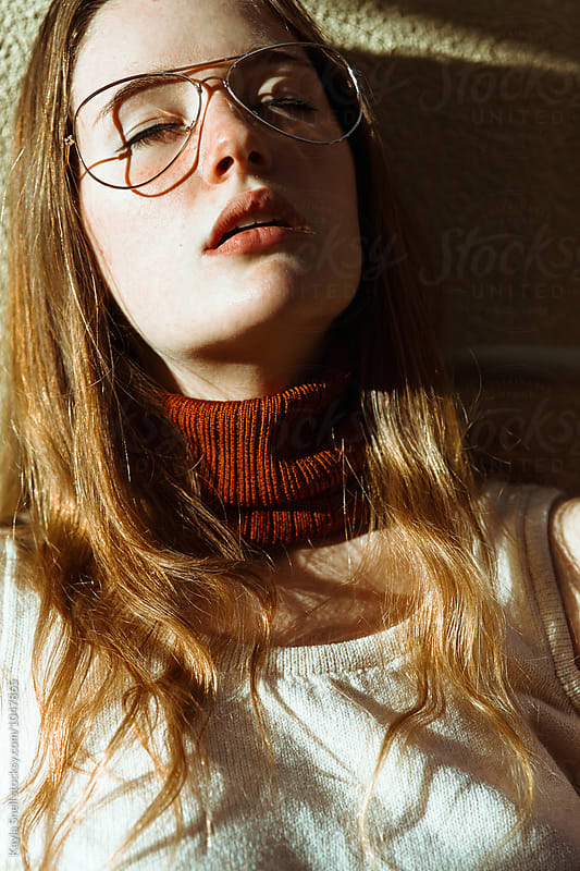 Portrait of a woman by Kayla Snell for Stocksy United