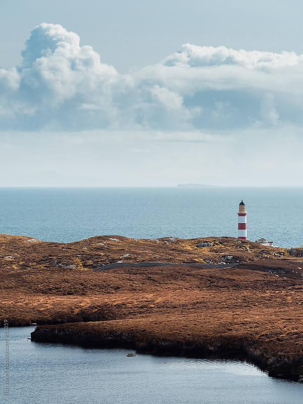 Eileen Glas Lighthouse, Isle of Harris by Richard Jones for Stocksy United