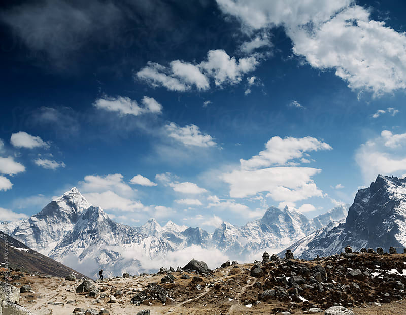 Nepal, Khumbu Valley by Dejan Ristovski for Stocksy United