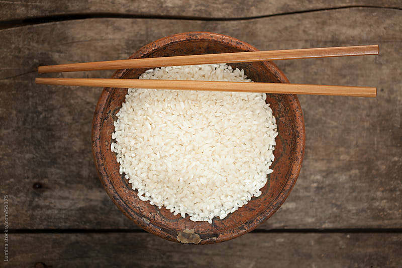 Bowl of Rice by Lumina for Stocksy United