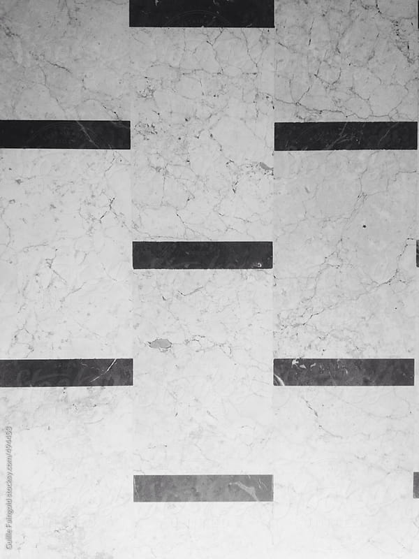 lines in floor by Guille Faingold for Stocksy United