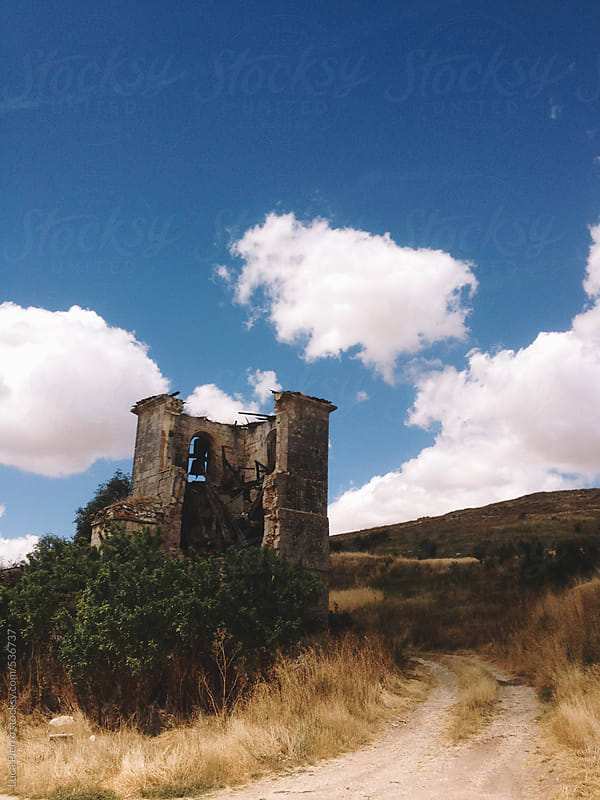 Ruins on the Way of Saint James  by Luca Pierro for Stocksy United