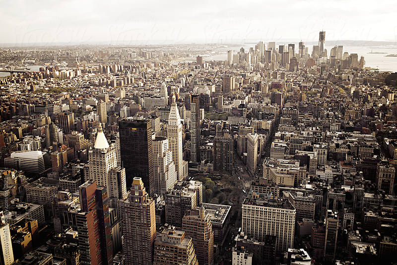 New York from Empire State Building by Kenny Smith for Stocksy United