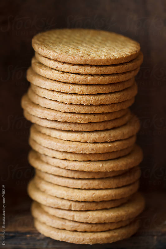 Stack of cookies by Dobránska Renáta for Stocksy United