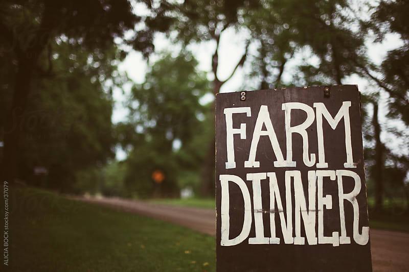 Farm Dinner by ALICIA BOCK for Stocksy United
