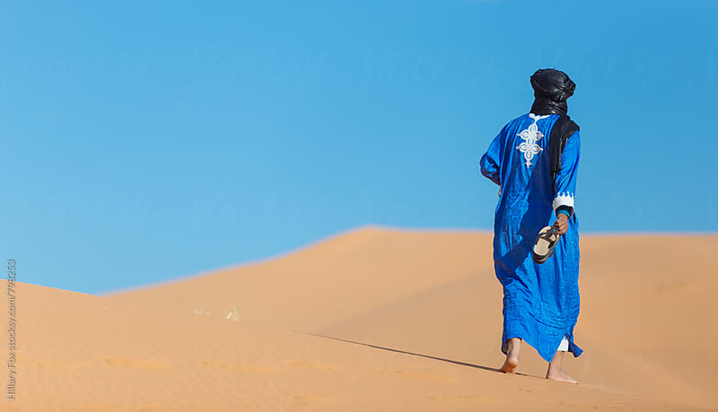 In the Sahara by Hillary Fox for Stocksy United