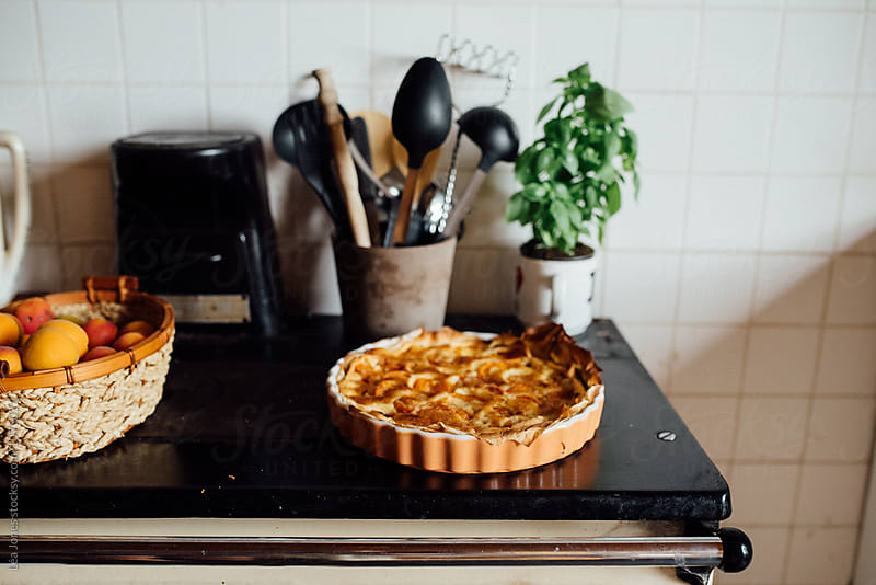 apricot pie by Léa Jones for Stocksy United