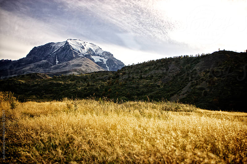 Foothills of Torres del Paine by Jon Attaway for Stocksy United