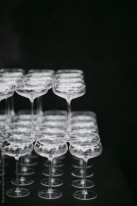 Coupe Glasses by Brad & Jen for Stocksy United