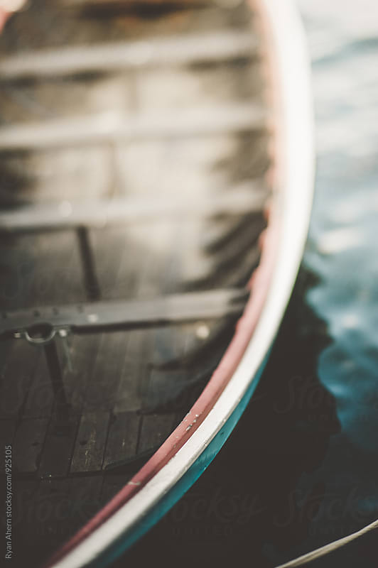 Old Wooden Boat by Ryan Ahern for Stocksy United