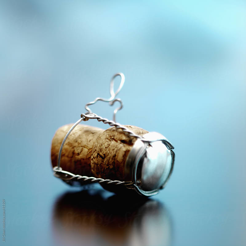 Champagne Cork by Jill Chen for Stocksy United