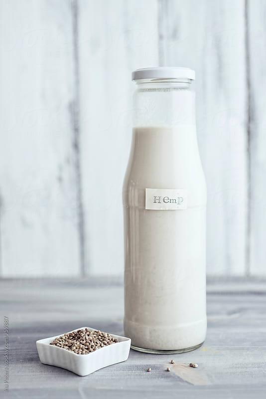 Food: Vegan Hemp Milk by Ina Peters for Stocksy United