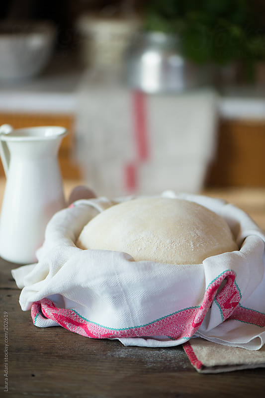 homemade bread by Laura Adani for Stocksy United