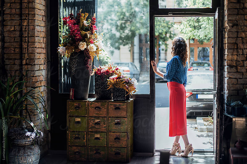 Florist in a Flower Shop by Lumina for Stocksy United