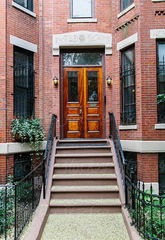 Door in Boston by Raymond Forbes LLC for Stocksy United