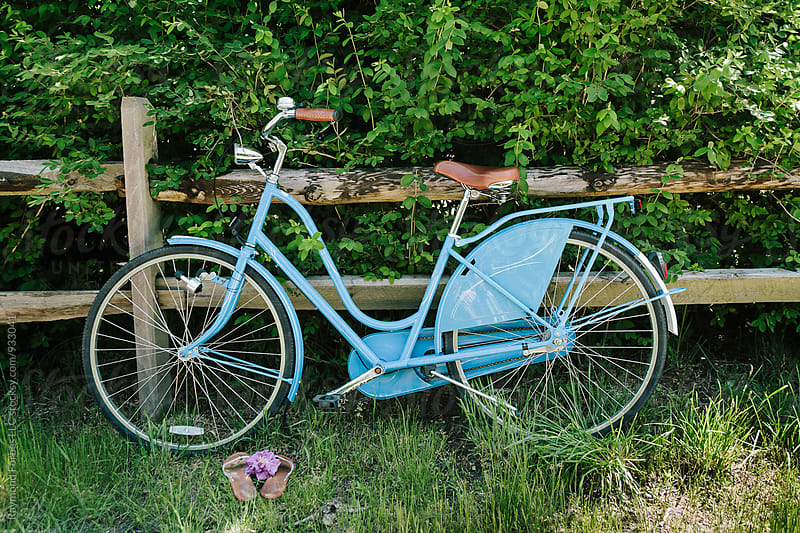 Beach Bike on Nantucket by Raymond Forbes LLC for Stocksy United