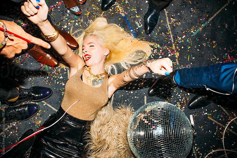 Girls Just Want to Have Fun. New Year's Party by Studio Firma for Stocksy United