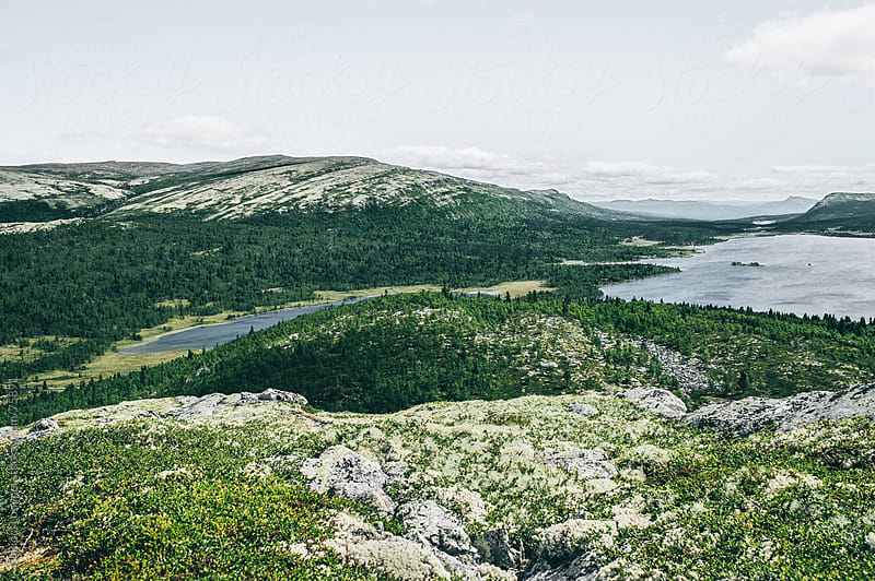 Beautiful Landscape in Norway, Scandinavia by Claudia Lommel for Stocksy United