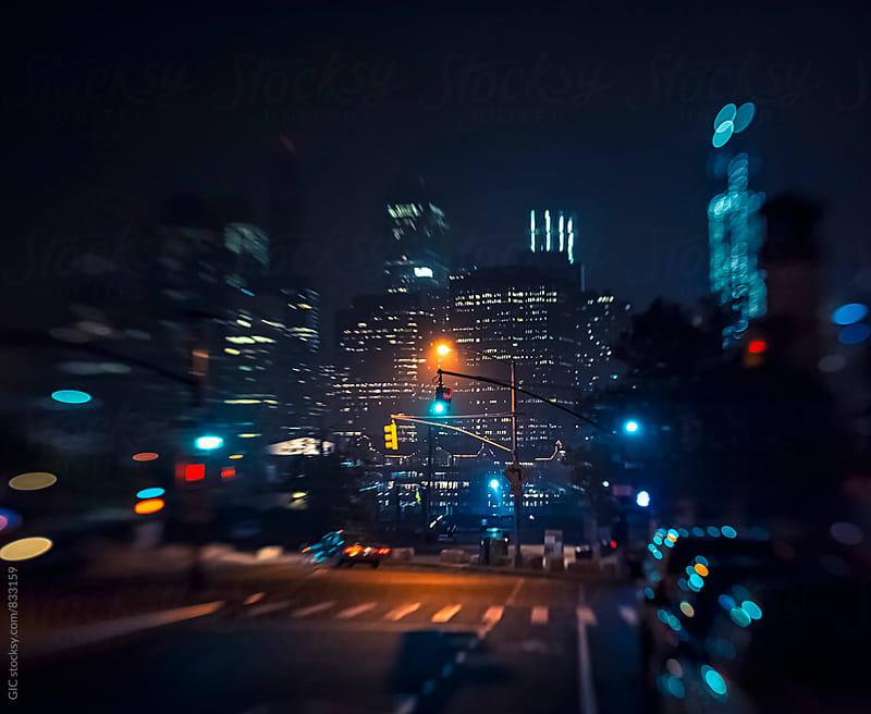 New York City urban scene by Simone Becchetti for Stocksy United