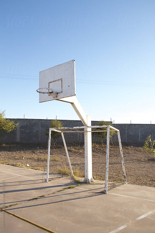 Basketball Hoop by Carey Haider for Stocksy United